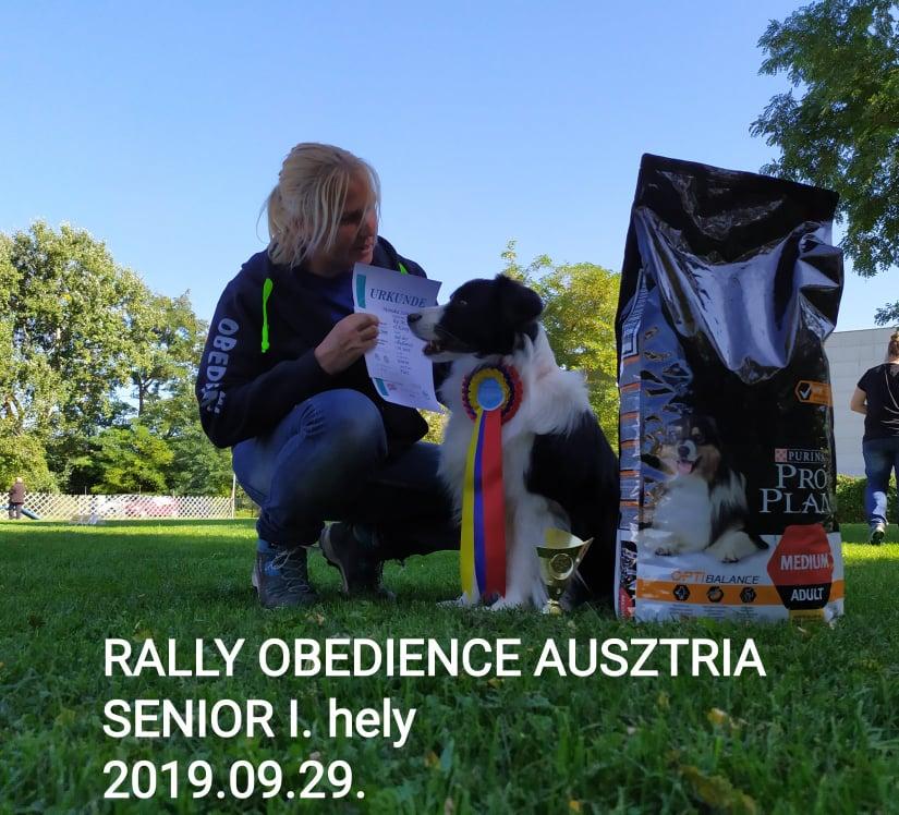 Rally Obedience Ausztria
